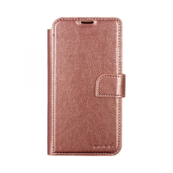 Base IPhone 11 PRO Max (6.5) - Folio Exec Wallet - Rose