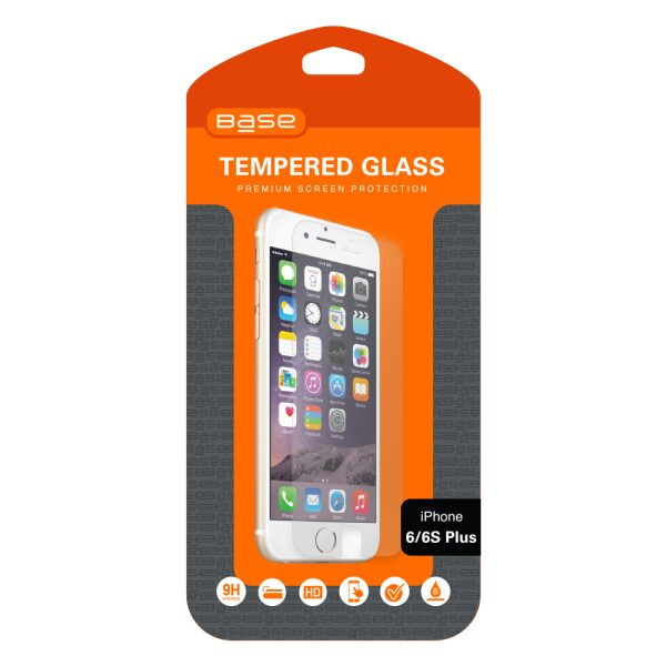 Base Premium Tempered Glass Screen Protector for iPhone 6 Plus