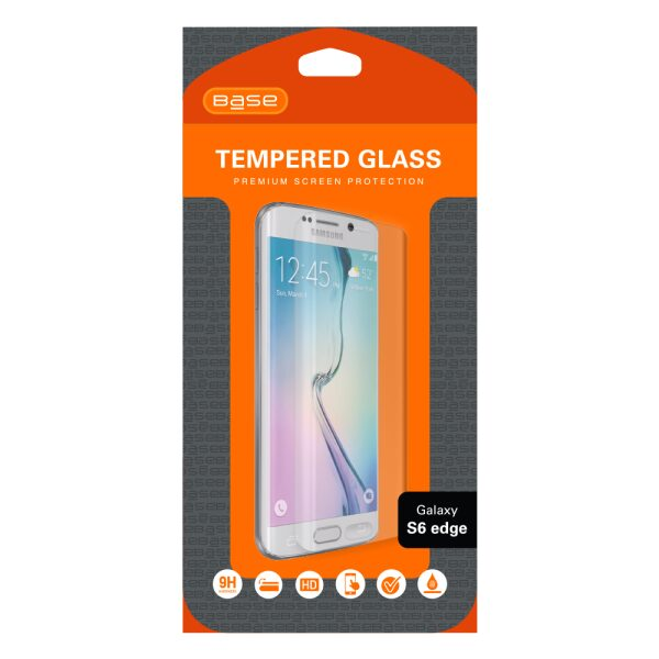 Base Premium Tempered Glass Screen Protector For Galaxy S6 Edge
