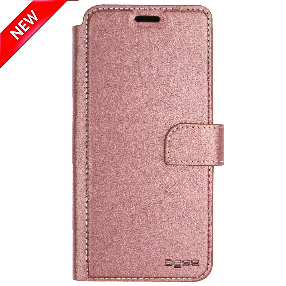 Base Folio Wallet Case iPhone XR  - Rose