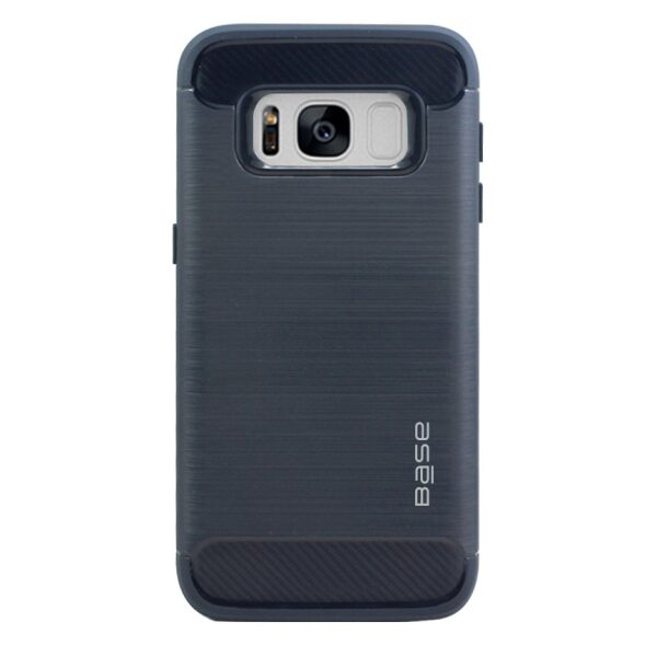 Base ProSlim - Sleek Brushed Protective Case for Samsung Galaxy S8 Plus - Navy Blue