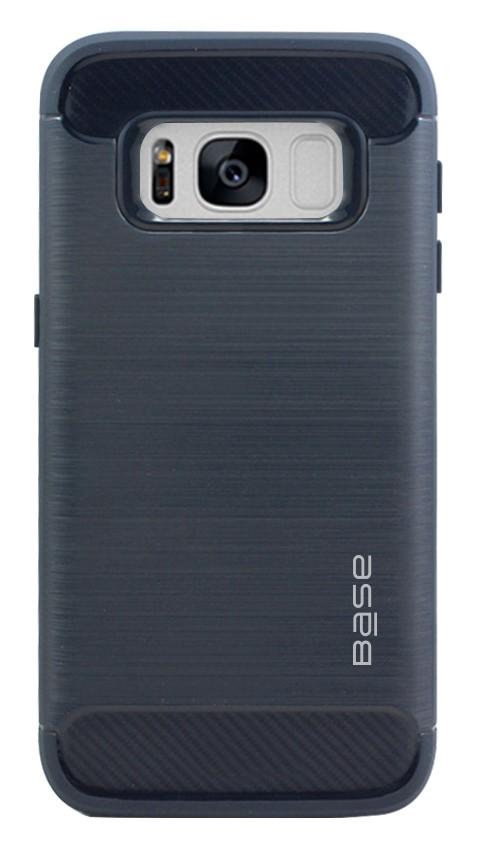 Base ProSlim - Sleek Brushed Protective Case for Samsung Galaxy S8 Plus - Navy Blue