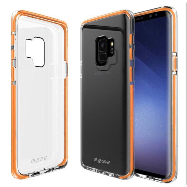 Base BorderLine - Dual Border Impact Protection for Samsung Galaxy S9 Plus - Orange