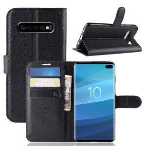 Base Folio Exec Wallet Case Samsung Galaxy S10 Plus - Black