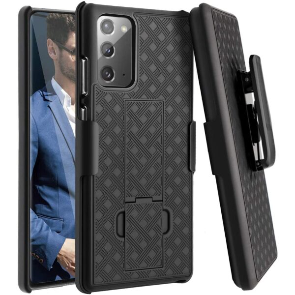 Base Duraclip Series Combo Case with Belt Clip Holster for Samsung Galaxy Note20