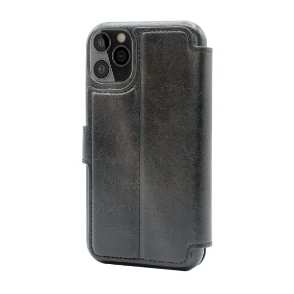 Base Folio Exec Wallet Case iPhone 12 Pro Max (6.7) - Black