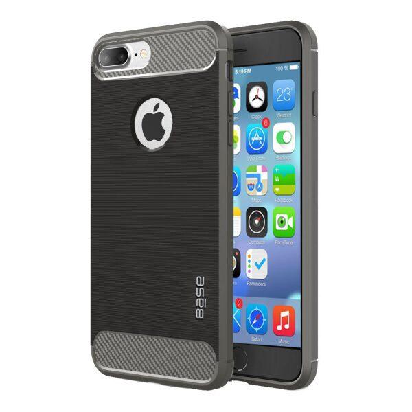 Base ProSlim - Sleek Brushed Protective Case for iPhone 7/8 Plus - Grey