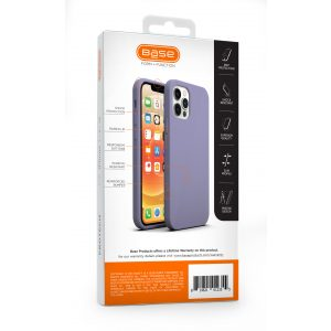 Base Liquid Silicone Gel/Rubber Case iPhone 12 Pro Max (6.7) - Purple