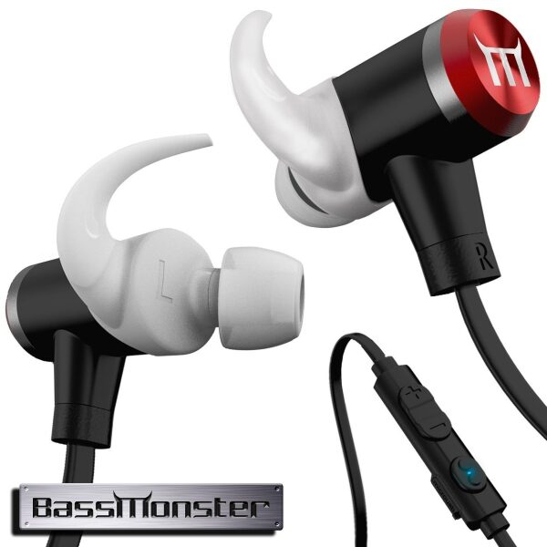 BassMonster Bluetooth Earbuds