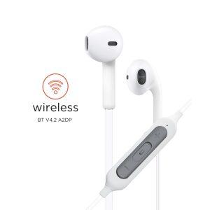 Base Sport Bluetooth Stereo Headset - White