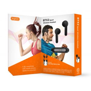 Base Sport Bluetooth Stereo Headset - Black