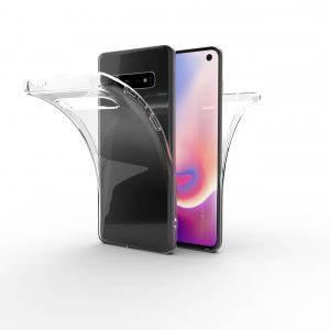 Base b-Air - Crystal Clear Slim Protective Case for Samsung Galaxy S10