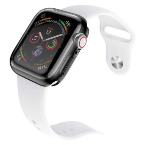 Base Bumper Tempered Glass for Apple Watch Series 1,2,3 Small (38mm)