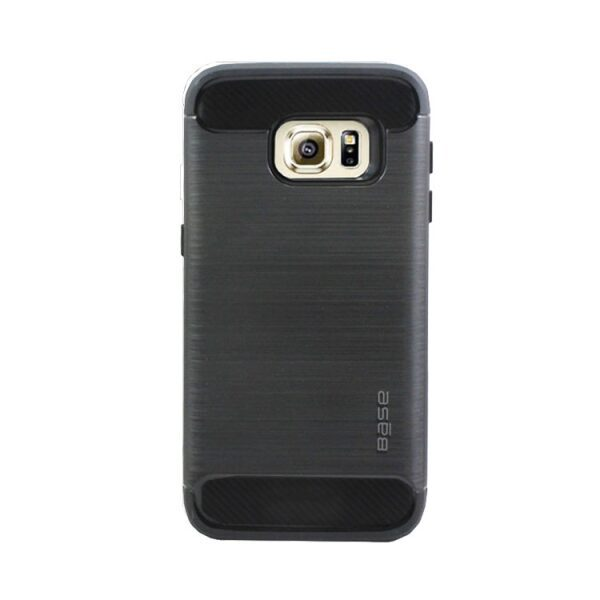 Base ProSlim - Sleek Brushed Protective Case for Samsung Galaxy S7 - Black