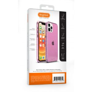 Base Crystalline For iPhone 12 Mini (5.4) - Pink