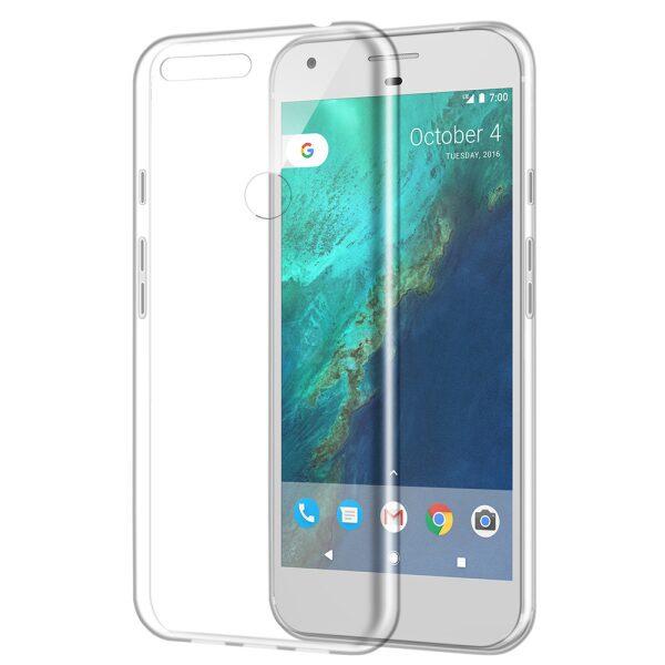 Base NUDE Case Google Pixel - Clear