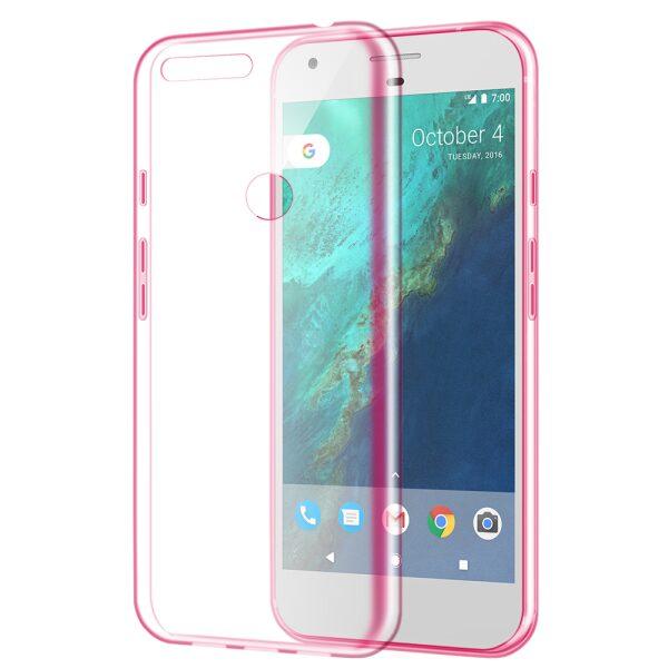 Base NUDE Case Google Pixel - Pink