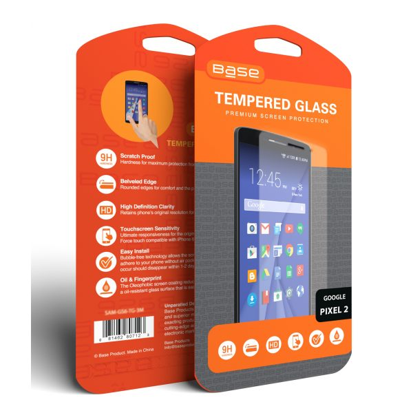 Base Premium Tempered Glass Screen Protector for Google Pixel 2