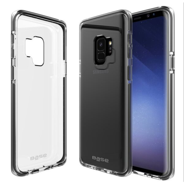 Base BorderLine - Dual Border Impact Protection for Samsung Galaxy S9 Plus - Black