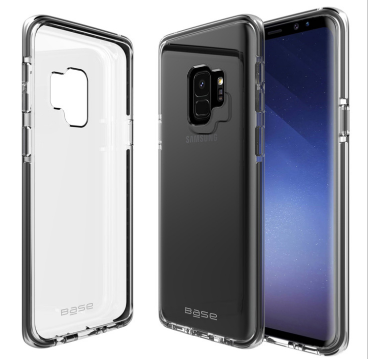 Base BorderLine - Dual Border Impact Protection for Samsung Galaxy S9 Plus - Black