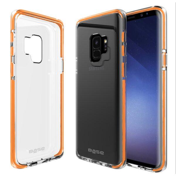 Base BorderLine - Dual Border Impact Protection for Samsung Galaxy S9 - Orange