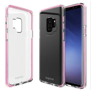 Base BorderLine - Dual Border Impact Protection for Samsung Galaxy S9 - Pink