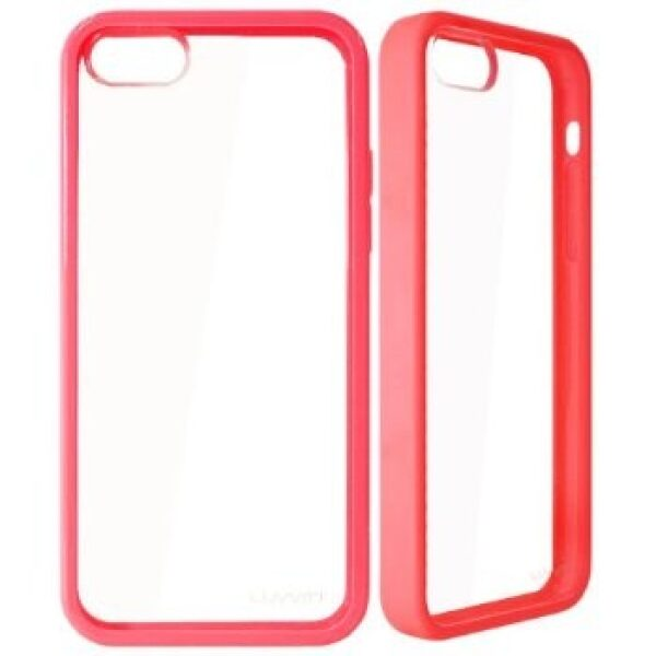 Base Premium Iphone 5 Bumper Back - Pink/clear