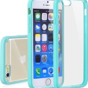 Base Bumper Back iPhone 6 Plus - Teal/clear
