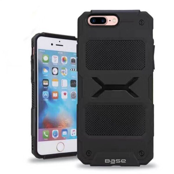 Base ProTech - Rugged Armor Protective Case for iPhone 7/8 Plus - Black