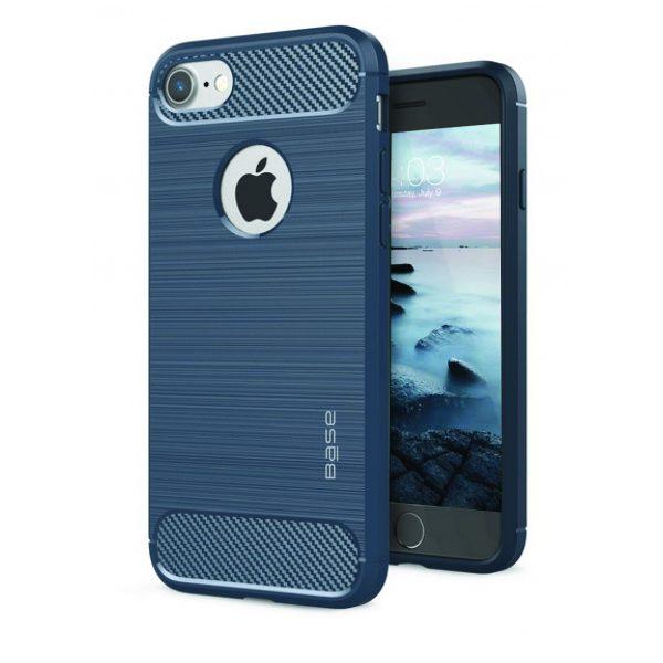 Base ProSlim - Sleek Brushed Protective Case for iPhone- SE - 7/8 - Navy Blue