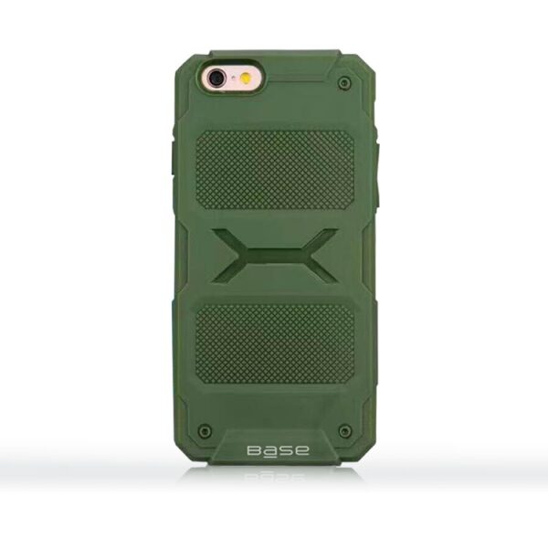 Base ProTech - Rugged Armor Protective Case for iPhone 6 - Green - BULK NO PACKAGING!