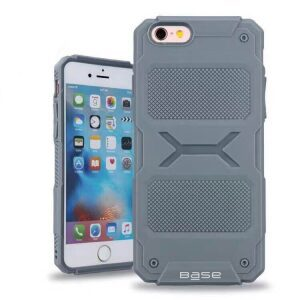 Base ArmorTech - Rugged Armor Protective Case for iPhone 7/8 - Grey