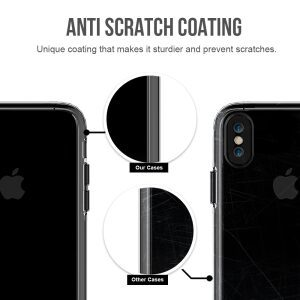 Base Crystal Shield - Reinforced Bumper Protective Case for iPhone X - Clear