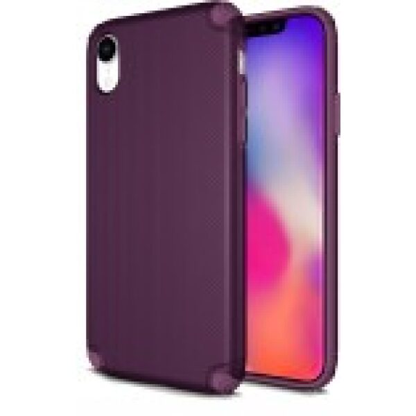 Base ProTech - Rugged Armor Protective Case for iPhone XR - Purple