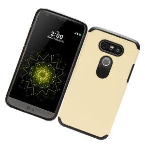 Base LG G5 Hybrid Case -  Gold