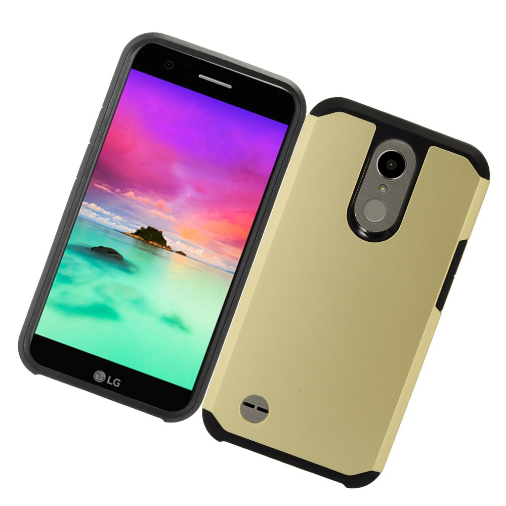 Base Hybrid Case LG K20 - Gold - Power Peak