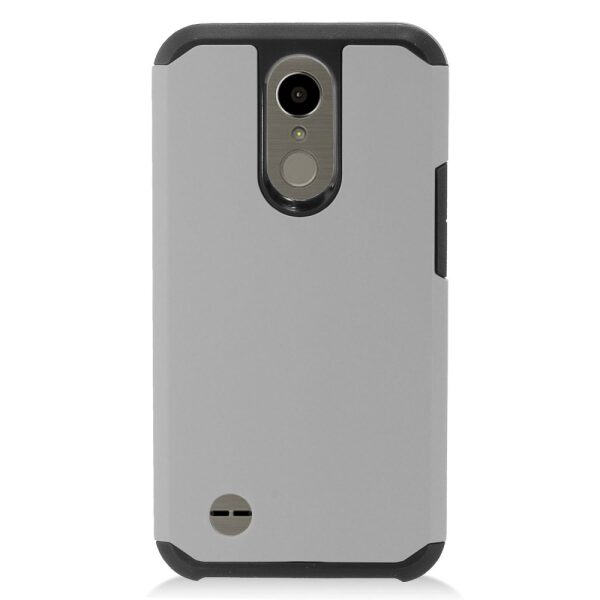 Base Hybrid Case LG K20 - Grey