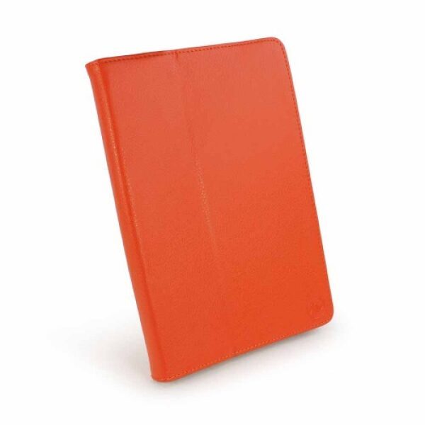 """Base Universal Leather Pouch For 10"""" Tablets - Orange"""