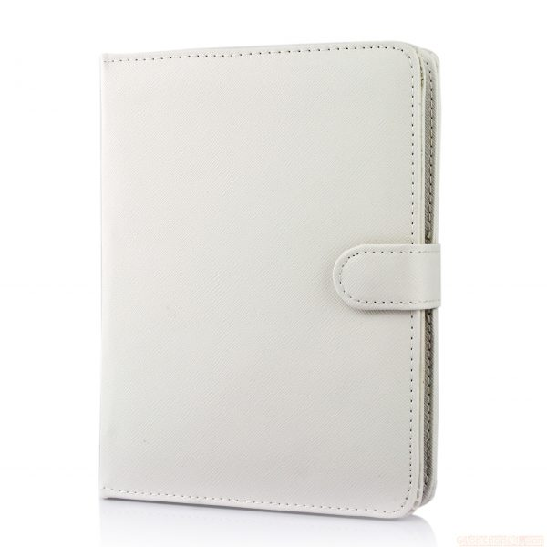 "Base Universal Leather Pouch For 7-8"" Tablets - White"