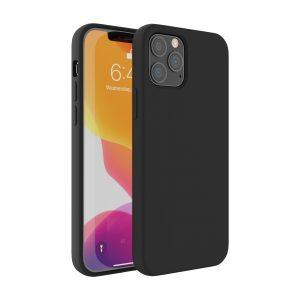 Base Liquid Silicone Gel/Rubber Case iPhone 12 Mini (5.4) - Black