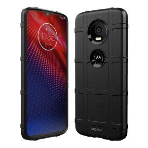 Base Motorola Z4 Armor Tech Case - Black