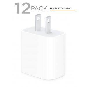 Apple Original 18W USB-C Power Adapters - 12 Pack