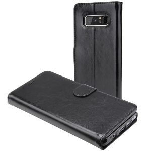 Base Folio Exec Wallet Case Samsung Note 8  - Black