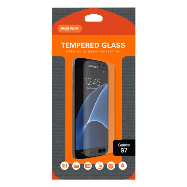 Base Tempered Glass Screen Protector For Galaxy S7