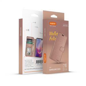 Base Folio Exec Wallet Case Samsung Galaxy S10 Plus - Rose