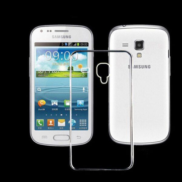 Base Samsung Galaxy S4 Mini Tpu Case - Clear