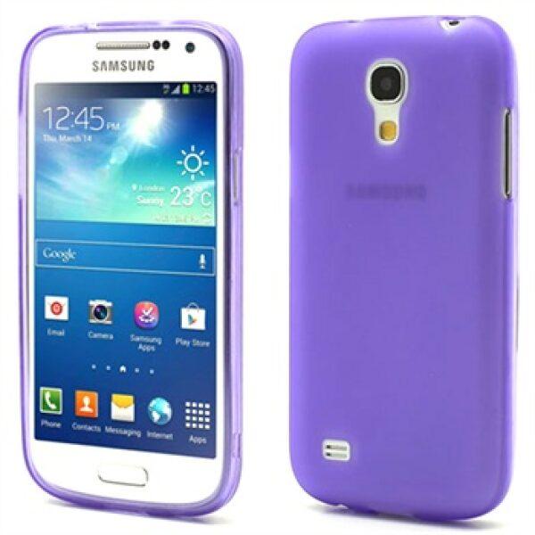 Base Samsung Galaxy S4 Mini Tpu Case - Purple