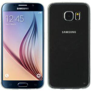 Base Samsung Galaxy S6 Ultra Slim Bumper Back - White