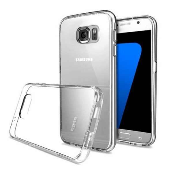 Base b-Air - Crystal Clear Slim Protective Case for Samsung Galaxy S7