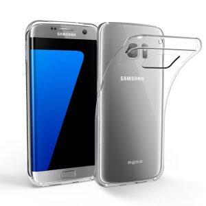 Base b-Air - Crystal Clear Slim Protective Case for Samsung Galaxy S7 Edge